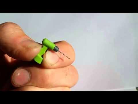3D yazıcıyla dünyanın en küçük matkabını ürettiler