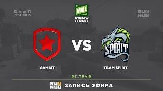 Gambit vs Team Spirit - ESEA Premier Season 24 - de_overpass [ceh9]