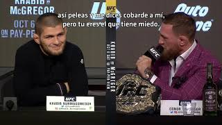 Video UFC 229 Khabib vs McGregor Conferencia de Prensa MP3, 3GP, MP4, WEBM, AVI, FLV Oktober 2018