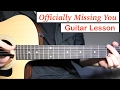 Download Video Officially Missing You - Tamia | Guitar Lesson (Tutorial) How to play Chords