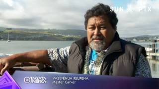 Our reporter Marama T-Pole caught up with Visiting Tokelauan master carver and navigator Vasefenua (Vase) Timo Reupena...