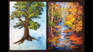 The Lazy Artist's Way to Paint Beautiful Trees in 10 minutes with Acrylic Paints for Beginners is a must see tutorial. How to draw a tree and then add layers of different colored leaves, discover the light source and add contrast are explained in great detail. Ginger Cook accepts the challenge of painting a tree in 10 minutes or less and nails it at eight minutes.  She then show how to paint fall foliage using multiple  tones or red, gold, green, and oranges, layering each color. This  is a simple easy to understand method of painting fall trees. Being the GOLD STANDARD in acrylic painting lessons, Ginger Cook will be exploring the Fine Art of Acrylic Painting by offering tips and tricks to help you with your own acrylic paintings. During her live broadcast, Ginger will be taking questions and may demonstrate the answer when possible. In this week's exciting episode...The Lazy Artist's Way to Paint Beautiful Trees in 10 minutes with Acrylic Paints for Beginners! Join Ginger Cook, Master Acrylic Artists, for Live Lessons right here on YouTube every Monday, and Tuesday evening at 7:30pm central. You will meet other artists and be able to ask questions in this live interactive session. We talk about art and other fun subjects as Ginger shows you step by step how to paint another masterpiece with acrylic paints. Join Ginger as she shows you how creating with acrylic paints can be easy, fun and stress-free. Looking for something to paint that we haven't shown yet? Let us know by using the Contact Us form on our website, https://gingercooklive.gallery/contact-us/! Let us hear from you, as you continue your voyage to discover the artist within. We are here to make you the best artist by offering Personal Art Coaching on our website, https://GingerCookLive.gallery, with a paid monthly or yearly membership subscription. Starting as low as $21.95 for seniors/military. Visit our website to learn more at https://gingercooklive.gallery/membership-sign-up/  You can view our lesso