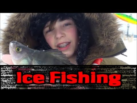 Holy Perch- Ice Fishing 16.02.13.