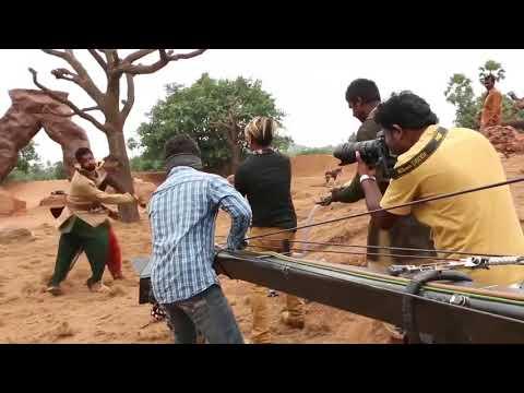 Bahubali 2 Movie Original Making Scene    2017