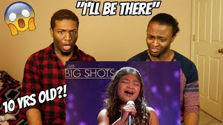 "Video Angelica Hale - 10 Year- Old Sings ""I'll Be There"" 