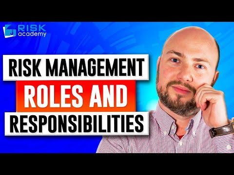 the roles of a risk manager The attitude and actions of a manager will show up in his or  these three roles in change management formulate and coordinate the plans that are executed by the.