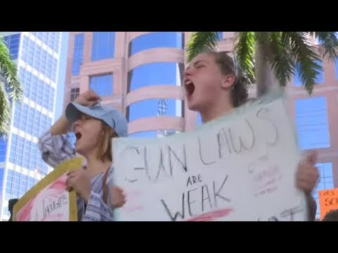 """High School-Massaker in Florida: """"Wir können nicht me ..."""