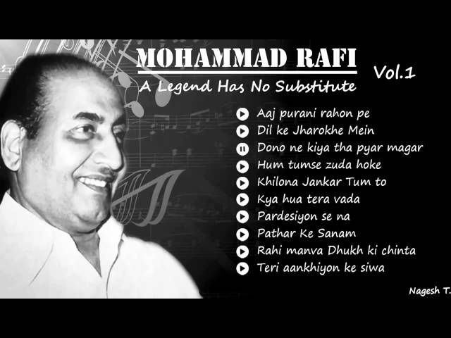 Best Of Mohammad Rafi Old Hindi Instrumental Songs ...