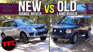 Can A $6000 Land Rover Discovery Keep Up With a New $93,000 Range Rover Sport In The Rocks and Mud!? by The Fast Lane Car