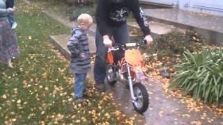 4. Zacks first dirtbike KTM 50