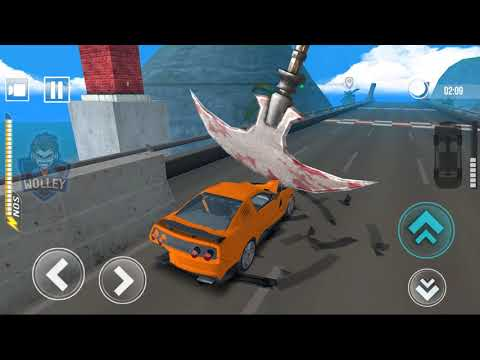 Сrazy Сars Race #1 - Impossible Track Speed Cars Bump Driving Games 1 to 7 (speed bump car drive)