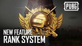Разработчики PUBG рассказали о ранговой системе