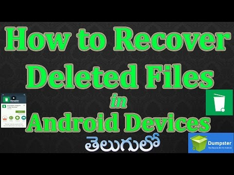 How to Recover Deleted Files in Android Devices