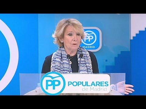 Ισπανία: Παραιτήθηκε η πρόεδρος του Λαϊκού Κόμματος στη Μαδρίτη