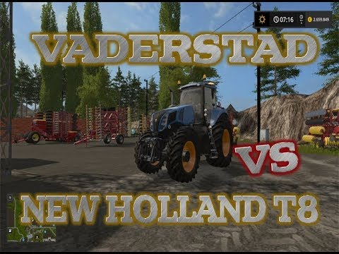 New Holland T8 Fordson Special v1.0