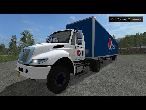 International Pepsi Truck and Trailer Pack v1.0