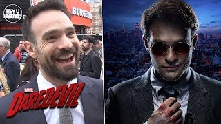 Charlie Cox reaction to Daredevil Season 3 Trailer