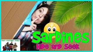 Video SARDINES Hide and Seek In NEW Box Fort Ball Pit / That YouTub3 Family MP3, 3GP, MP4, WEBM, AVI, FLV September 2018