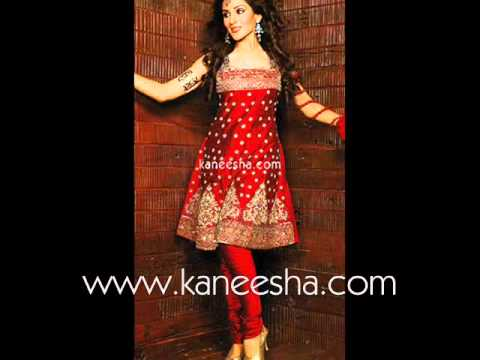 churidar - See amazing styles of Churidar fashion 2011 and jewelry in this video of Kaneesha.com. They have excellent collection of Chudidar Indian dress, Churidar salw...
