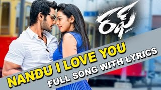 Nandu I Love You Song With Lyrics - Rough