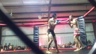 PYRAMID FIGHTS 1: Erasmo Garcia Vs Trevor Anderson - MMA FIGHT VIDEO