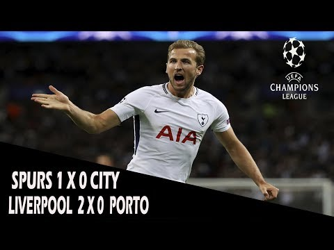 CHAMPIONS LEAGUE! FASE FINAL DO MATA A MATA! LIVERPOOL X PORTO & TOTTENHAM X MANCHESTER CITY!