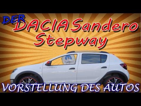 """""""DER DACIA SANDERO STEPWAY 2″ -kurze Vorstellung"""