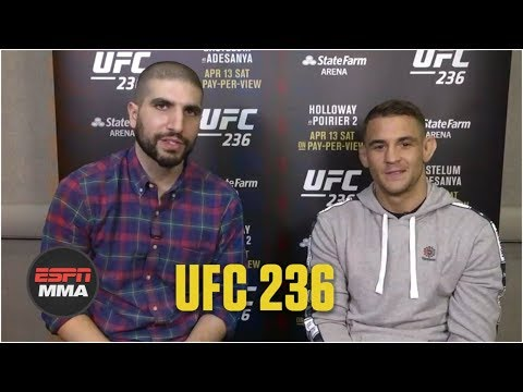 Dustin Poirier Reminisces Over Footage From His Past With Ariel Helwani | Espn Mma