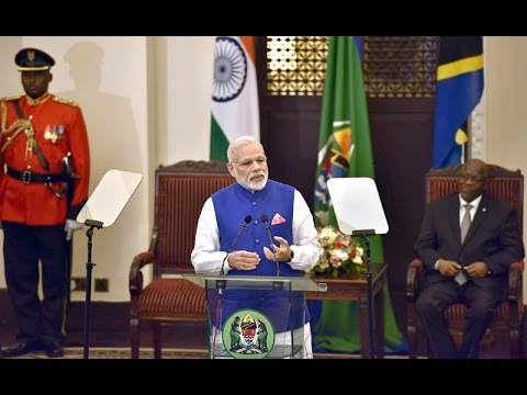 PM Modi's speech at the Joint Press Statements in State House, Tanzania