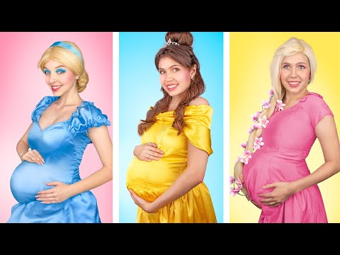 What If Disney Princesses Were Pregnant