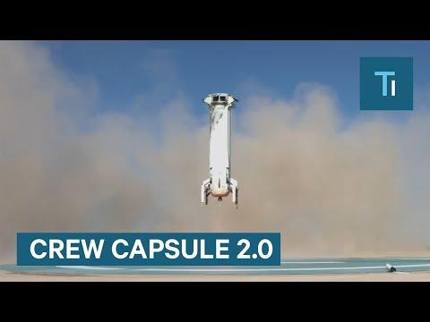 Watch Blue Origin Rocket Launch of Crew Capsule 2.0