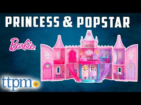 Barbie: The Princess and the Popstar Musical Light-Up Castle from Mattel
