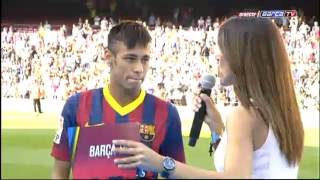 Video FC Barcelona - Presentation Neymar 03.06.2013 MP3, 3GP, MP4, WEBM, AVI, FLV Maret 2018