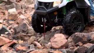 9. Arctic Cat 2016 Alterra Rideability