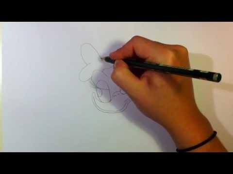 Daisy von Donald Duck zeichnen lernen