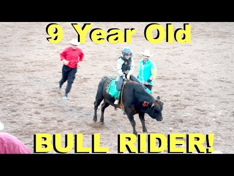 Video KIDS BULL RIDING AT THE BEST RODEO IN THE WORLD! download in MP3, 3GP, MP4, WEBM, AVI, FLV January 2017