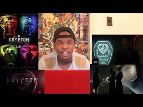 KRYPTON S01E06 Review & S01E07 Sneak Peek REACTION