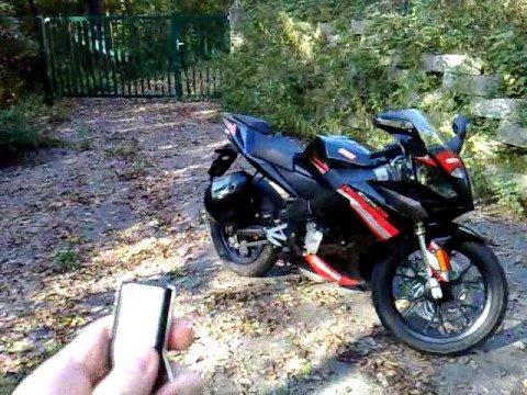 DERBI GPR 50 R 2008  Alarmanlage & Fernstart by M.z.K.
