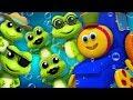 Fünf kleine gesprenkelte Frösche | Bob der Zug | Five Little Speckled Frogs