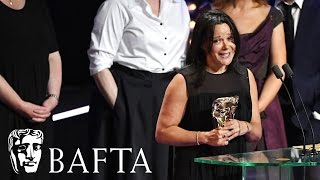 Happy Valley wins Drama Series at the BAFTA TV Awards 2017.subscribe to BAFTA ⏩ https://youtube.com/user/BAFTAonlinecheck out BAFTA Guru ⏩ https://youtube.com/user/BAFTAGuru⏬  stay up to date ⏬ Twitter: @BAFTA: https://twitter.com/BAFTA @BAFTAGuru: https://twitter.com/BAFTAGuru @BAFTAGames: https://twitter.com/BAFTAGames Facebook: https://www.facebook.com/baftaInstagram: http://instagram.com/baftasign up for our newsletter: http://guru.bafta.org/newsletter subscribe to our podcasts:iTunes: http://bit.ly/Vz84HI Soundcloud: https://soundcloud.com/baftavisit our websites to find out more:http://www.bafta.org/guruhttp://www.bafta.org
