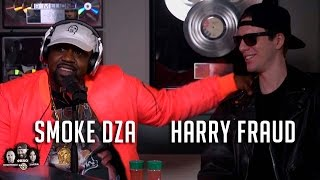 Hot 97 - Smoke DZA & Harry Fraud Talk Unreleased Tracks from Chinx & Max B, New Projects & Bars!