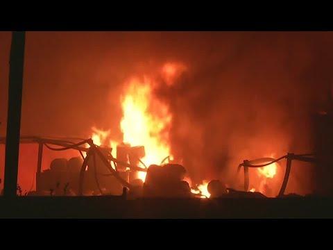 Verletzte nach Brand in indischer Chemiefabrik
