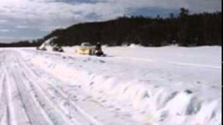 7. Oversized Load- Arctic Cat BEARCAT Snowmobile
