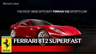 The 812 Superfast's aero design is part of Ferrari's ongoing commitment to continually improving performance with each new model, both in terms of speed and augmented vehicle dynamics for a more exhilarating driving experience.The development guidelines aimed to achieve exceptionally high aerodynamic efficiency figures through boosting of the downforce that influences a car's stability without increasing drag as the latter would negatively impact fuel consumption and maximum speed. Go to the Web Special: http://812superfast.ferrari.comSubscribe ferrariworld: http://www.youtube.com/subscription_center?add_user=ferrariworldFollow us on Facebook http://www.facebook.com/Ferrari and Twitter http://twitter.com/ferrariFerrari Since 1947http://www.ferrari.com