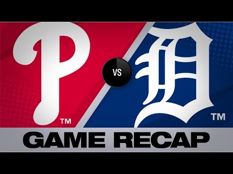 Video: Realmuto, Williams homer to lead Phillies | Phillies-Tigers Game Highlights 7/24/19