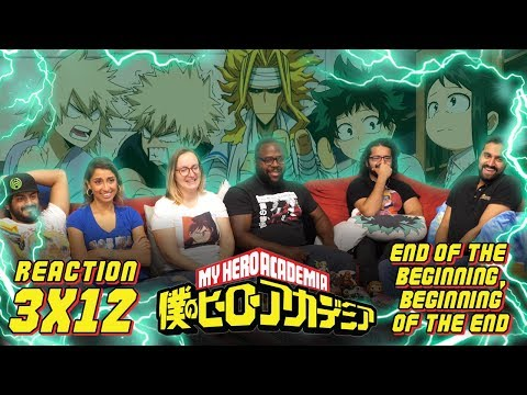My Hero Academia - 3x12 End of the Beginning, Beginning of the End - Group Reaction