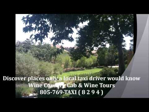 Wine Country Cab & Wine Tours Movie of the Santa Ynez Valley, Solvang Santa Ynez