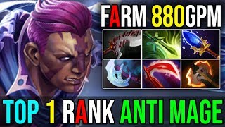 Video This is How Top 1 IMMORTAL RANK [Anti Mage] Ultimate Fast Farming 880GPM By IYD 7.18 Dota 2 FullGame MP3, 3GP, MP4, WEBM, AVI, FLV Desember 2018