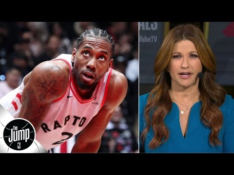 The Raptors aren't scared anymore, and Game 1 vs. the Warriors proves it - Rachel Nichols | The Jump