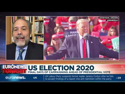 US Election 2020: Final days of campaigning ahead of presidential vote